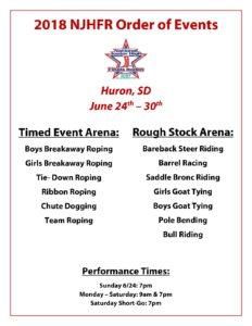 National High School Rodeo Association Nhsra 187 2018